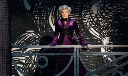 Caroline Wettergreen as Queen of the Night in the Glyndebourne production of Die Zauberflöte.
