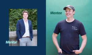 Mentor Anthony Fletcher, CEO of Graze, and Steven Winter of Bread Source