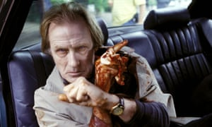 Bill Nighy in Shaun of the Dead.