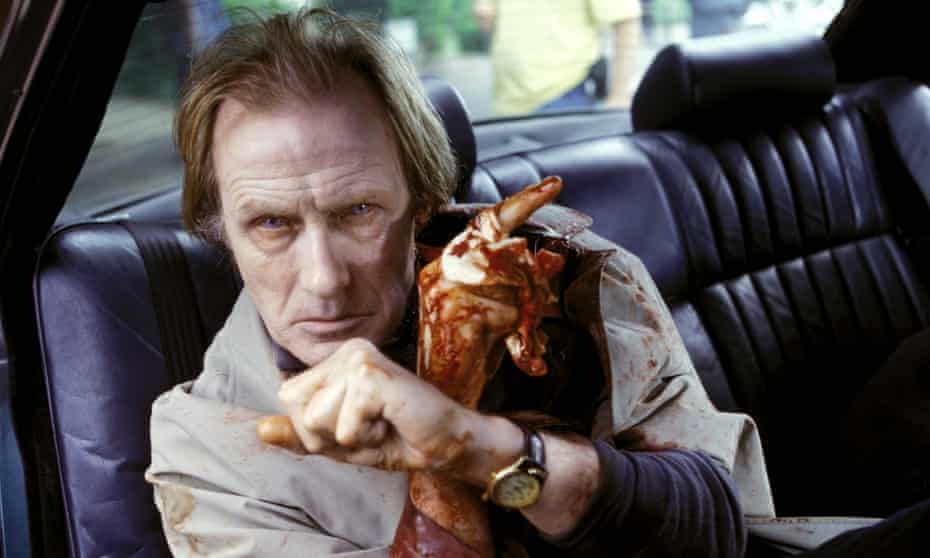 Bill Nighy in Shaun of the Dead.