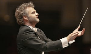 Thomas Søndergård conducting the BBC National Orchestra of Wales.