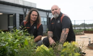 Clarence Slockee and Christian Hampson are co founders of Yerrabingin and have created the first Indigenous rooftop garden.