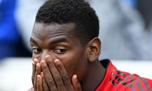 Paul Pogba's performance for Manchester United in the defeat at Brighton was criticised by Paul Scholes.