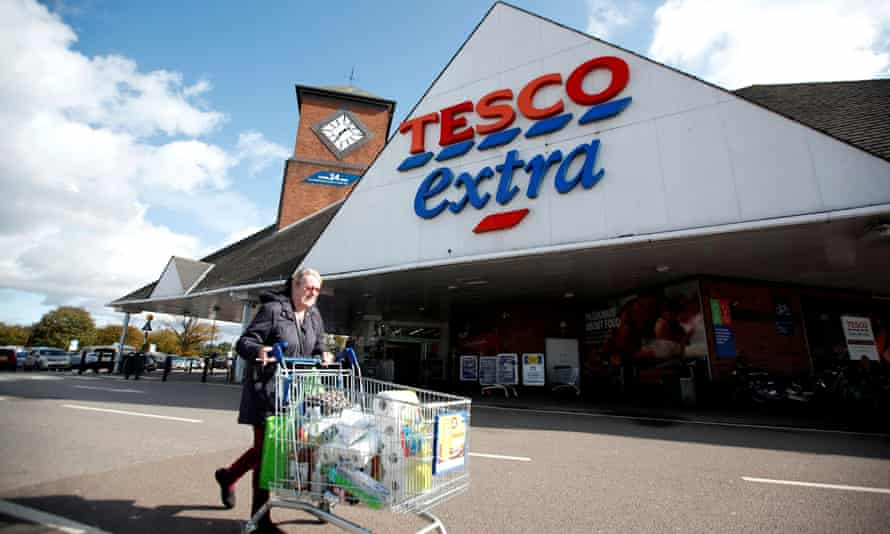 Tesco paid a £315m dividend to shareholders in October.