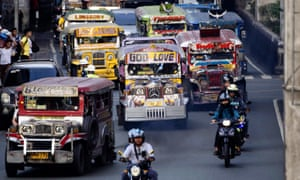 Manila S Jeepneys In Pictures World News The Guardian