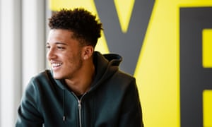 Jadon Sancho in Dortmund: 'For the kids that are in south London I hope I can give a positive message.'