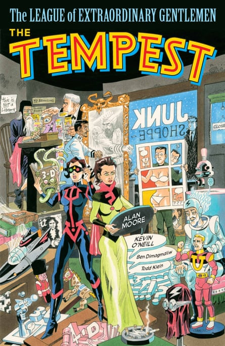 League of Extraordinary Gentlemen: The Tempest by Alan Moore and Kevin O'Neill.