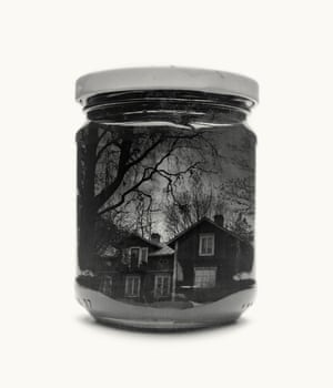 Great Grandmother's Old House from Jarred & Displaced, a series by Finnish photographer Christoffer Relander