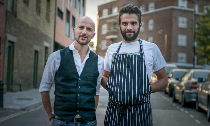 """Italian Supper Club co-founders Silvio and Toto: Most of our ingredients are seasonal, English and locally sourced. We don't use strict quantities in our recipes, just whatever feels right."""""""
