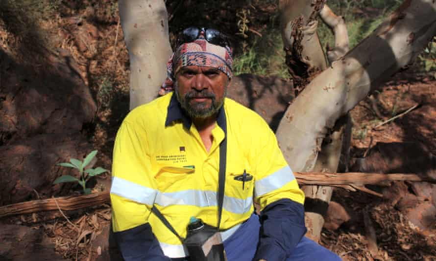 Burchell Hayes from the PKKP Aboriginal Corporation.