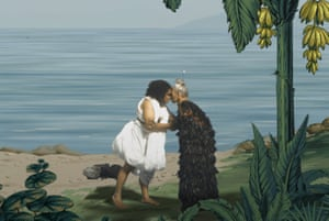 'Panoramic pantomime' … In Pursuit of Venus [Infected], part of the Oceania show at the RA.