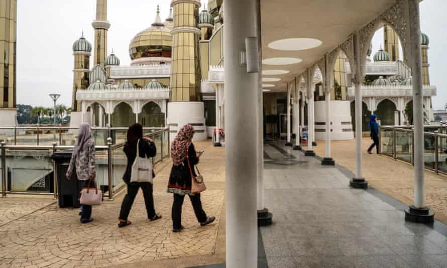 The Crystal Mosque in Kuala Terengganu