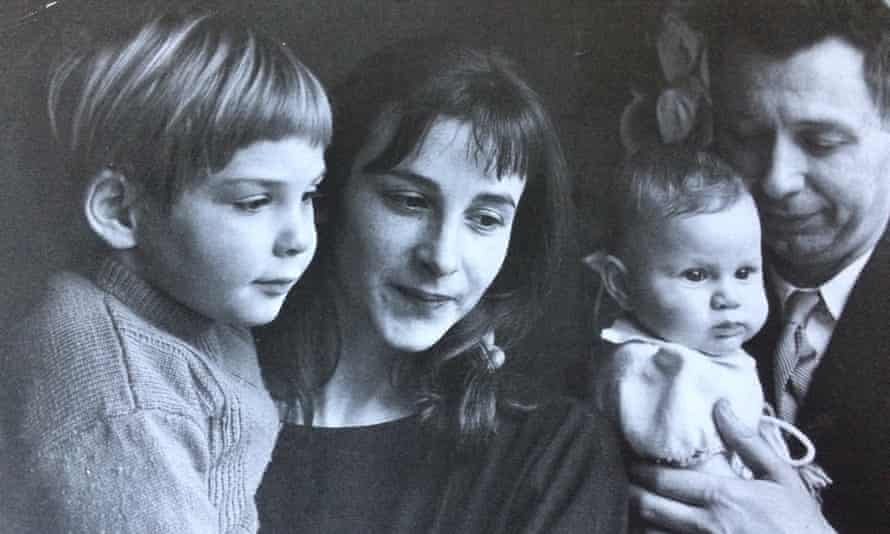 Susan Taubes and her family.