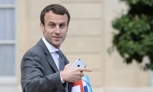 Emmanuel Macron, the French economy minister, has not yet said whether he will launch a presidential bid.