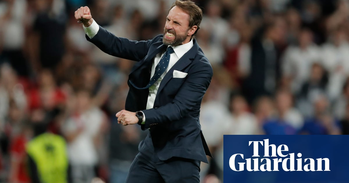 Southgate stays true to himself and calmly controls England's destiny