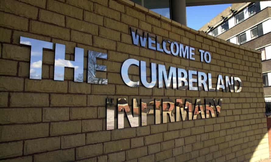 Cumberland Infirmary in Cumbria