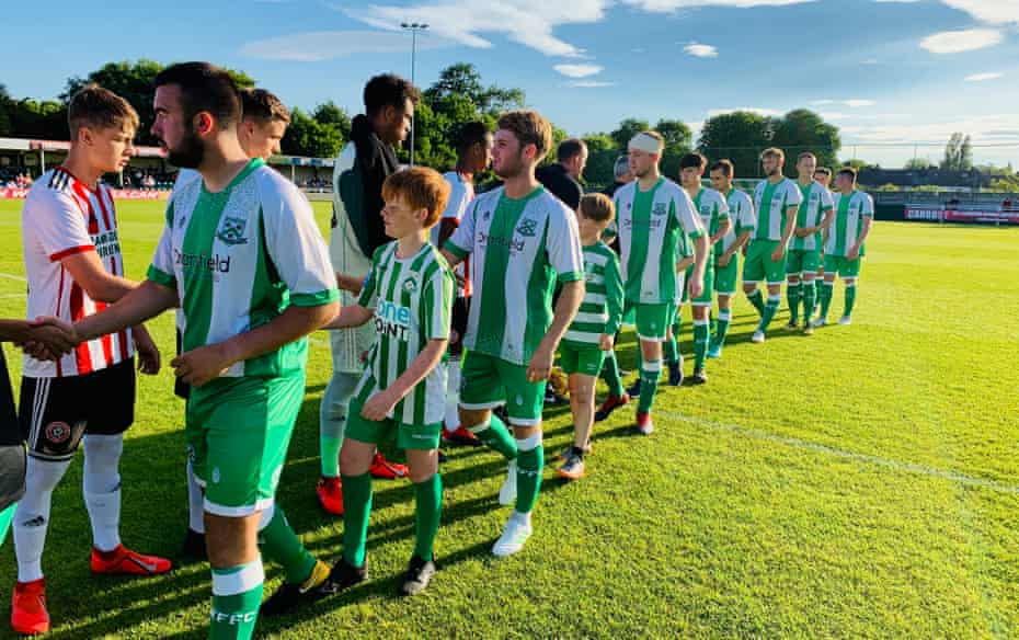 North Ferriby welcomed Sheffield United to the Dransfield Stadium over the weekend.