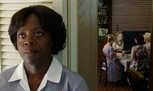 Viola Davis in her Oscar-nominated role in The Help.
