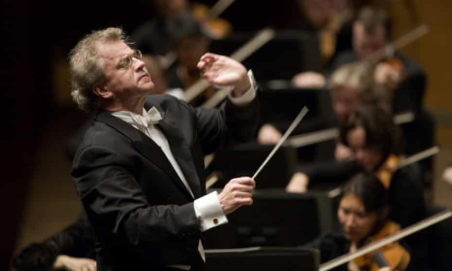 Super-charged … Osmo Vänskä with the Minnesota Orchestra.