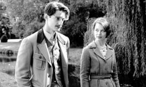 Pierre Niney and Paula Beer in Frantz.