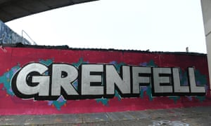 A tribute to the victims of Grenfell Tower fire.