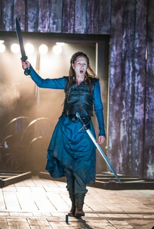 Seeking justice … Gina McKee as Boudica.