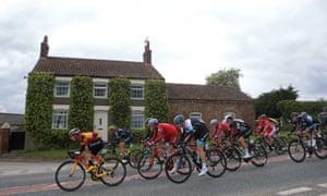 Première étape du Tour de Yorkshire 2017 - Bridlington à Scarborough.