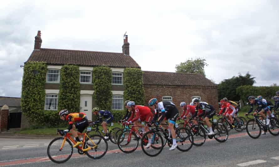 Stage one of 2017's Tour de Yorkshire - Bridlington to Scarborough.
