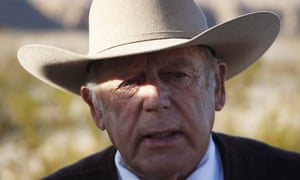 Cliven Bundy has become a hero on the right for his armed conflicts with the federal government over cattle grazing rights.