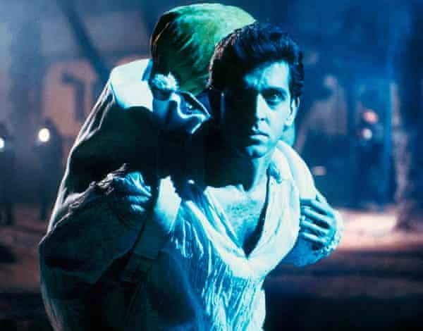 Healed by an alien ... Hrithik Roshan in Koi ... Mil Gaya.