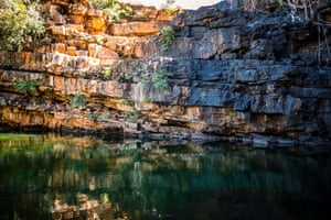 The magnificent Adcock Gorge, about 5km from Gibb River Road (Wilinggin Country).