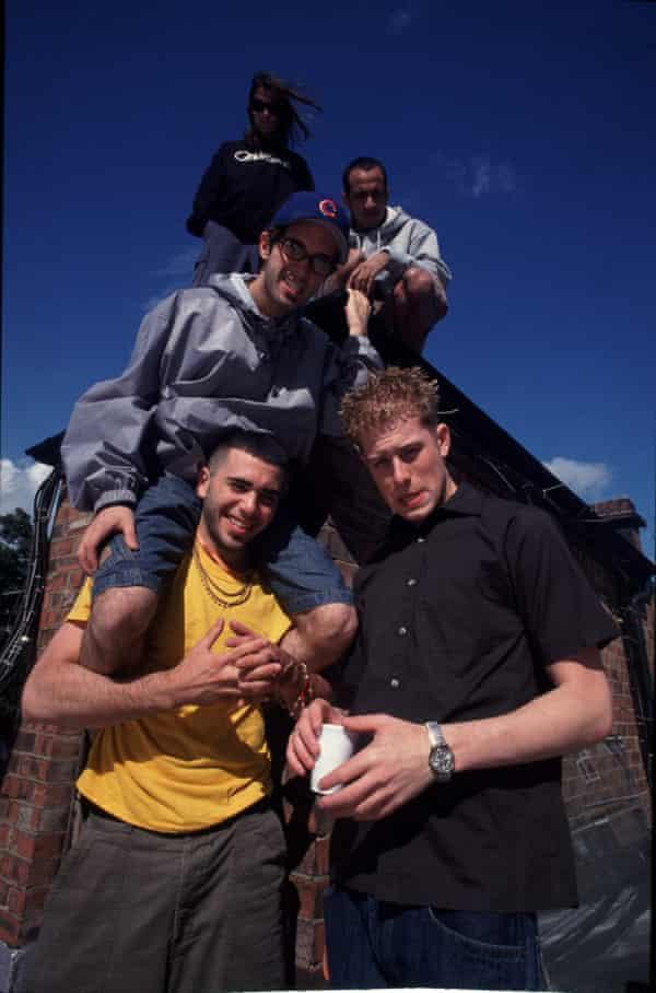 Glassjaw in Camden, London in 2000.