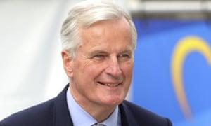 Michel Barnier, the EU's chief Brexit negotiato