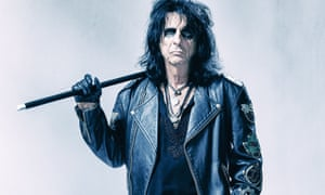 More shiny than screwball … Alice Cooper.