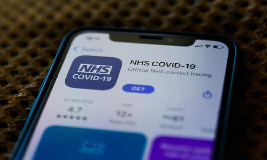 NHS COVID-19 on the App Store.