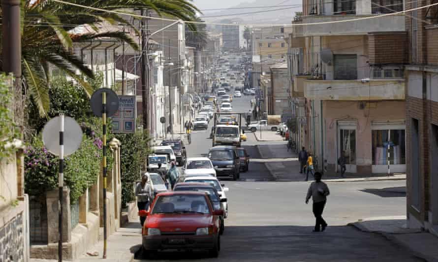 Eritrea's capital, Asmara.