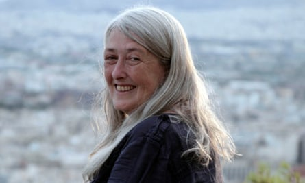 Erudition and biting wit … Mary Beard.