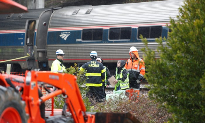 Two dead and more than 100 injured in South Carolina train