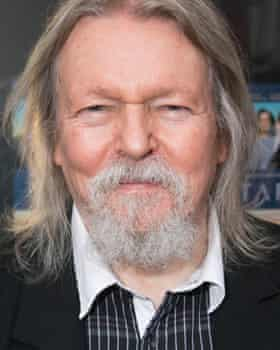 Christopher Hampton in London on Tuesday for the opening of Tartuffe.