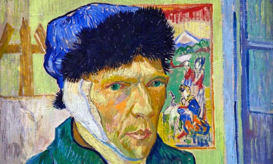 Van Gogh's Self-portrait with Bandaged Ear (1889).