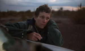 McDormand as Fern in the film version of Nomadland.