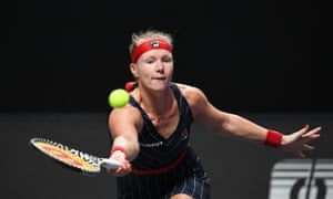 Kiki Bertens twice came from a set and a break down to beat Ashleigh Barty in Shenzhen.