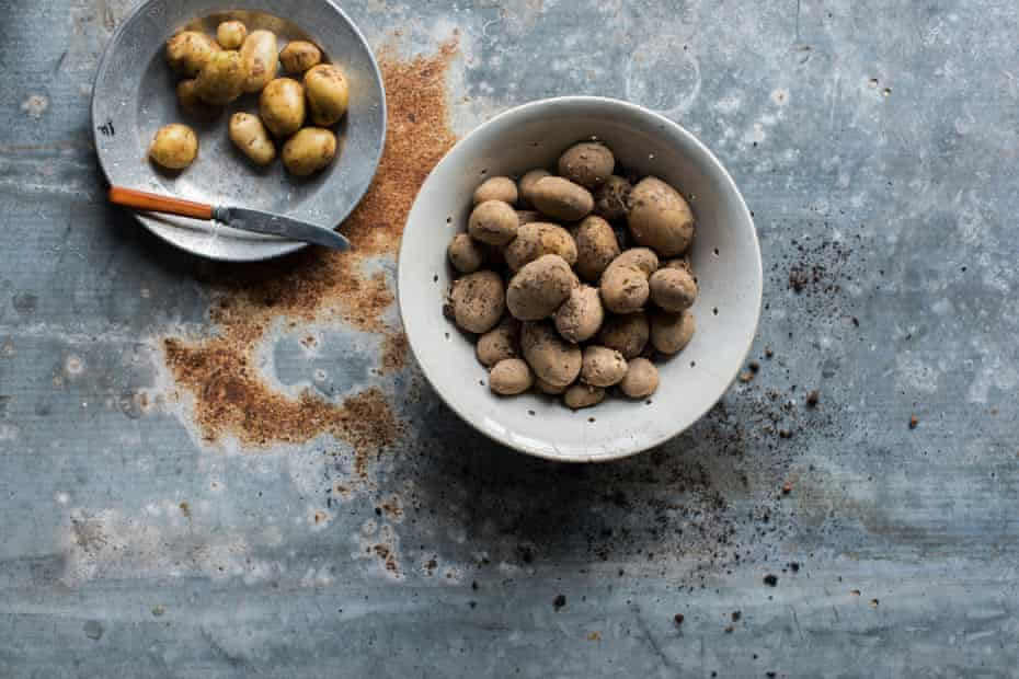 'I remember digging up new potatoes as a kid – they seemed so tiny, sweet and friendly; tiny jewels of the earth.'