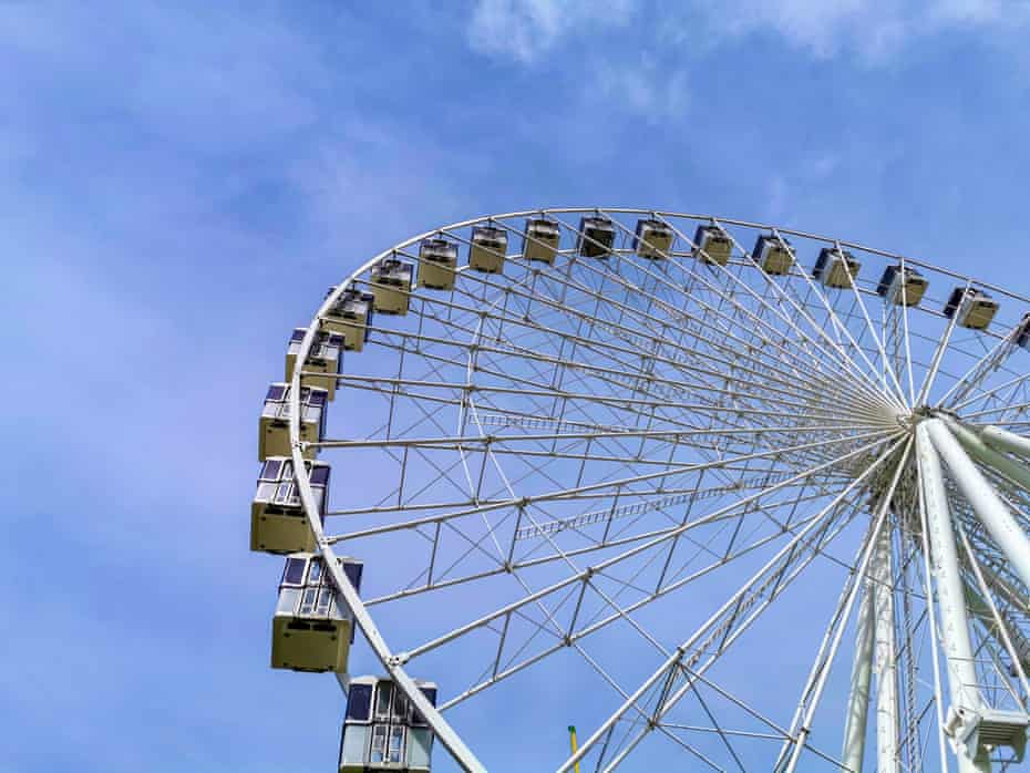 The Great Yarmouth Giant Wheel.