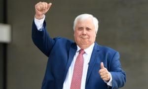 Australian mining millionaire Clive Palmer