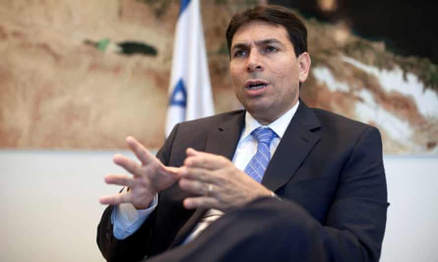Israel's new UN ambassador, Danny Danon, visits New York this week.