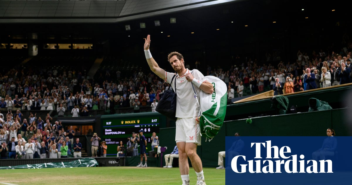 Is the sun finally setting on Andy Murray's brilliant, battling career?