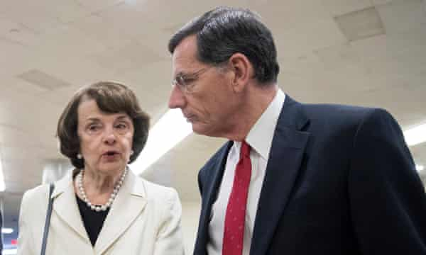 Dianne Feinstein: 'This issue should be handled by the most senior career attorney at the Department of Justice.'