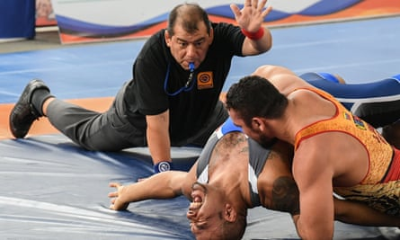 Wrestling … the mind is the limit.