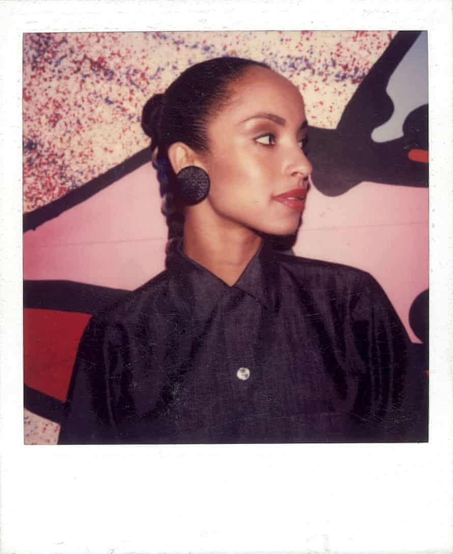 'She could have said no' … Sade, Polaroid by Maripol.